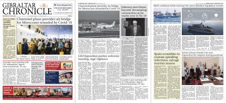 Gibraltar Chronicle – 25 July 2020