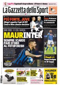La Gazzetta dello Sport Roma – 07 novembre 2018