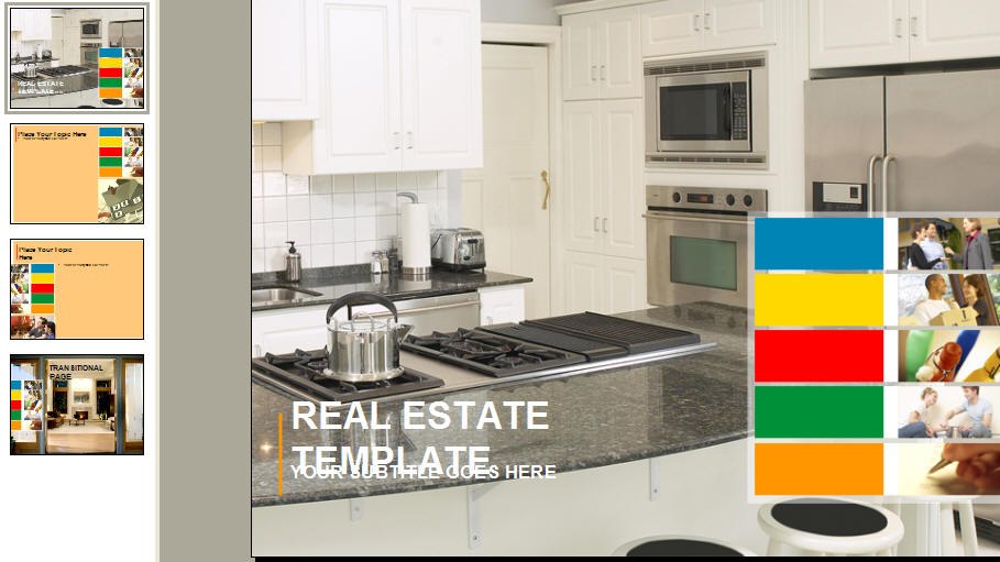 BoxedArt 17533: PowerPoint Template | «Domestic Display»