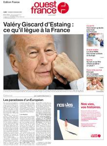 Ouest-France Édition France – 04 décembre 2020