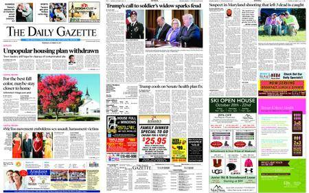 The Daily Gazette – October 19, 2017