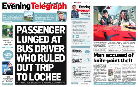 Evening Telegraph First Edition – February 05, 2019