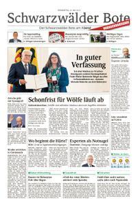 Schwarzwälder Bote St. Georgen, Triberg, Furtwangen - 23. Mai 2019