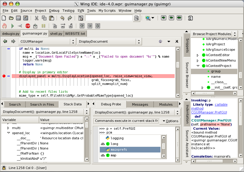 Wingware Wing IDE Professional 6.0.8.2 Multilingual MacOSX