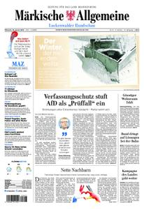 Märkische Allgemeine Luckenwalder Rundschau - 16. Januar 2019