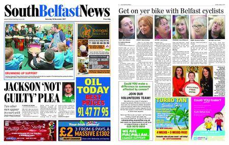 South Belfast News – November 20, 2017