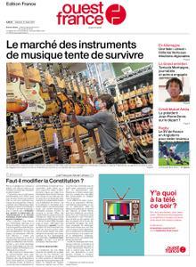 Ouest-France Édition France – 13 mars 2021