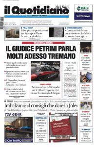 Il Quotidiano del Sud Reggio Calabria - 11 Febbraio 2020