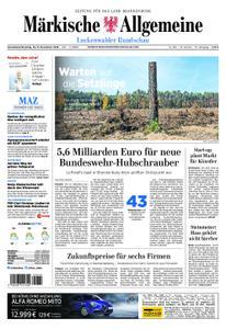 Märkische Allgemeine Luckenwalder Rundschau - 10. November 2018