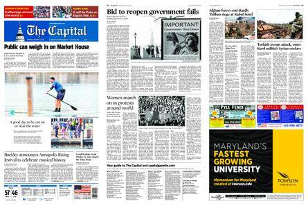 The Capital – January 22, 2018