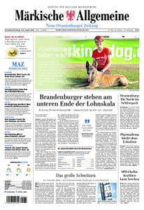Neue Oranienburger Zeitung - 04. August 2018