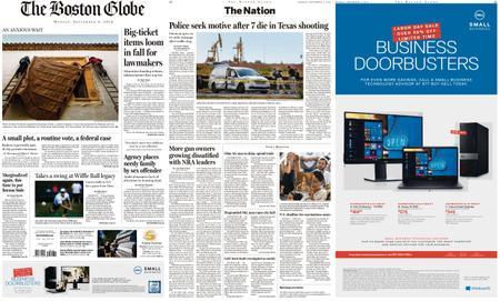 The Boston Globe – September 02, 2019