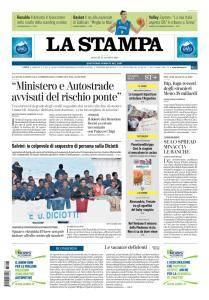 La Stampa Torino Provincia e Canavese - 23 Agosto 2018