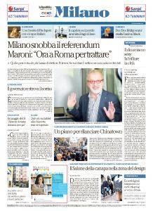la Repubblica Milano - 23 Ottobre 2017