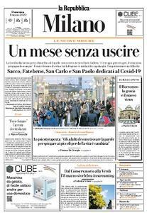la Repubblica Milano - 8 Marzo 2020