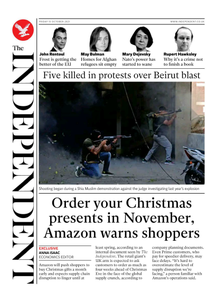 The Independent - 15 October 2021