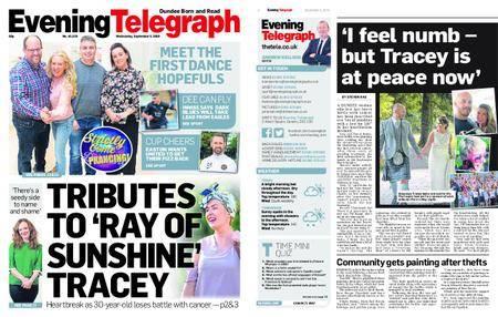 Evening Telegraph First Edition – September 05, 2018
