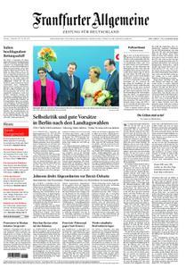 Frankfurter Allgemeine Zeitung F.A.Z. mit Rhein-Main Zeitung - 03. September 2019
