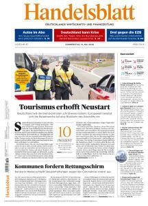 Handelsblatt - 14 Mai 2020