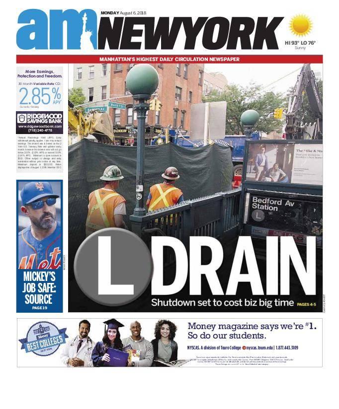 AM New York - August 06, 2018