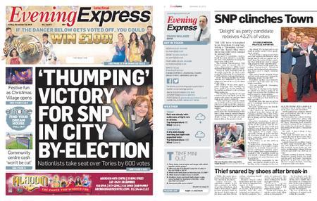 Evening Express – November 22, 2019
