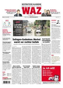 WAZ Westdeutsche Allgemeine Zeitung Oberhausen-Sterkrade - 30. Mai 2018