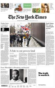 International New York Times - 19-20 January 2019