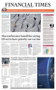 Financial Times Europe - May 15, 2020