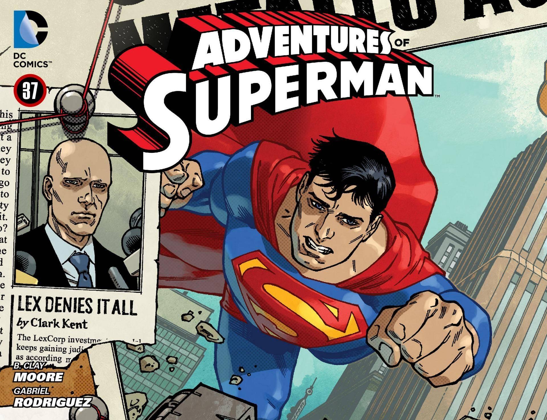 Adventures of Superman 037 2014 Digital