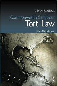 Commonwealth Caribbean Tort Law, 4 edition (repost)