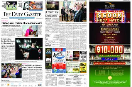 The Daily Gazette – September 07, 2018