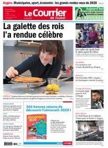 Le Courrier de l'Ouest Angers – 05 janvier 2020