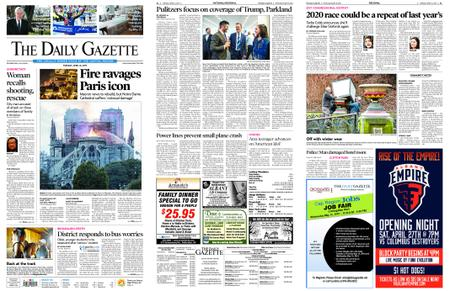 The Daily Gazette – April 16, 2019