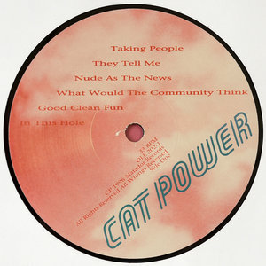 Cat Power - What Would The Community Think (US Original) Vinyl rip in 24 Bit/96 Khz + CD