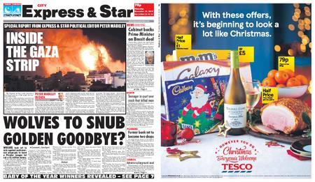 Express and Star City Edition – November 15, 2018