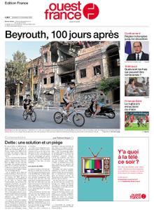 Ouest-France Édition France – 13 novembre 2020