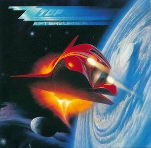 ZZ Top - Afterburner (1985) {Japanese Press}