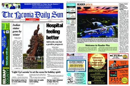 The Laconia Daily Sun – October 25, 2018