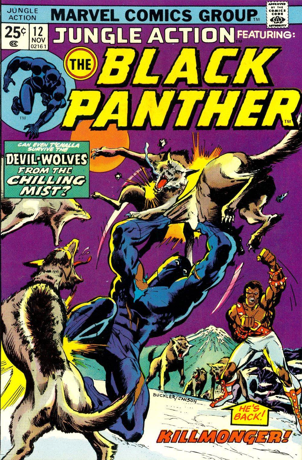 Jungle Action v2 012 featuring Black Panther