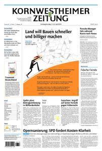 Kornwestheimer Zeitung - 21. April 2018