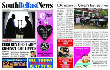 South Belfast News – April 18, 2019