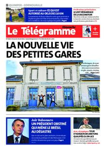 Le Télégramme Ouest Cornouaille – 18 avril 2021