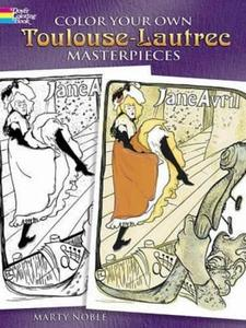 Color Your Own Toulouse-Lautrec Masterpieces