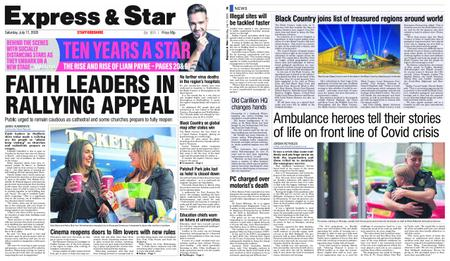 Express and Star Staffordshire Edition – July 11, 2020