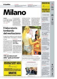 la Repubblica Milano - 29 Giugno 2018