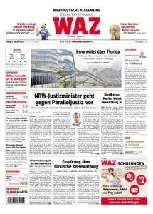 WAZ Westdeutsche Allgemeine Zeitung Oberhausen-Sterkrade - 11. September 2017