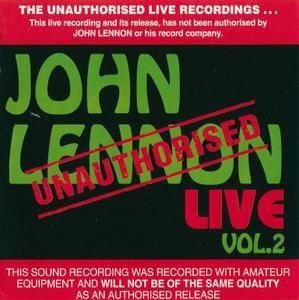 John Lennon - Live - Vol. 2 (1993) {Bootleg}
