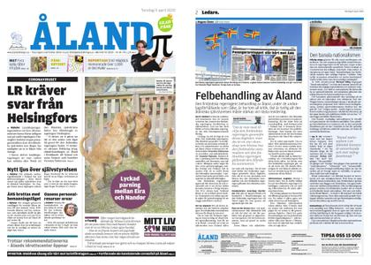 Ålandstidningen – 09 april 2020