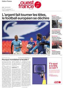 Ouest-France Édition France – 20 avril 2021