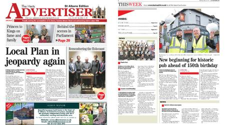The Herts Advertiser – January 30, 2020